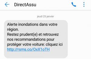 sms directassurance