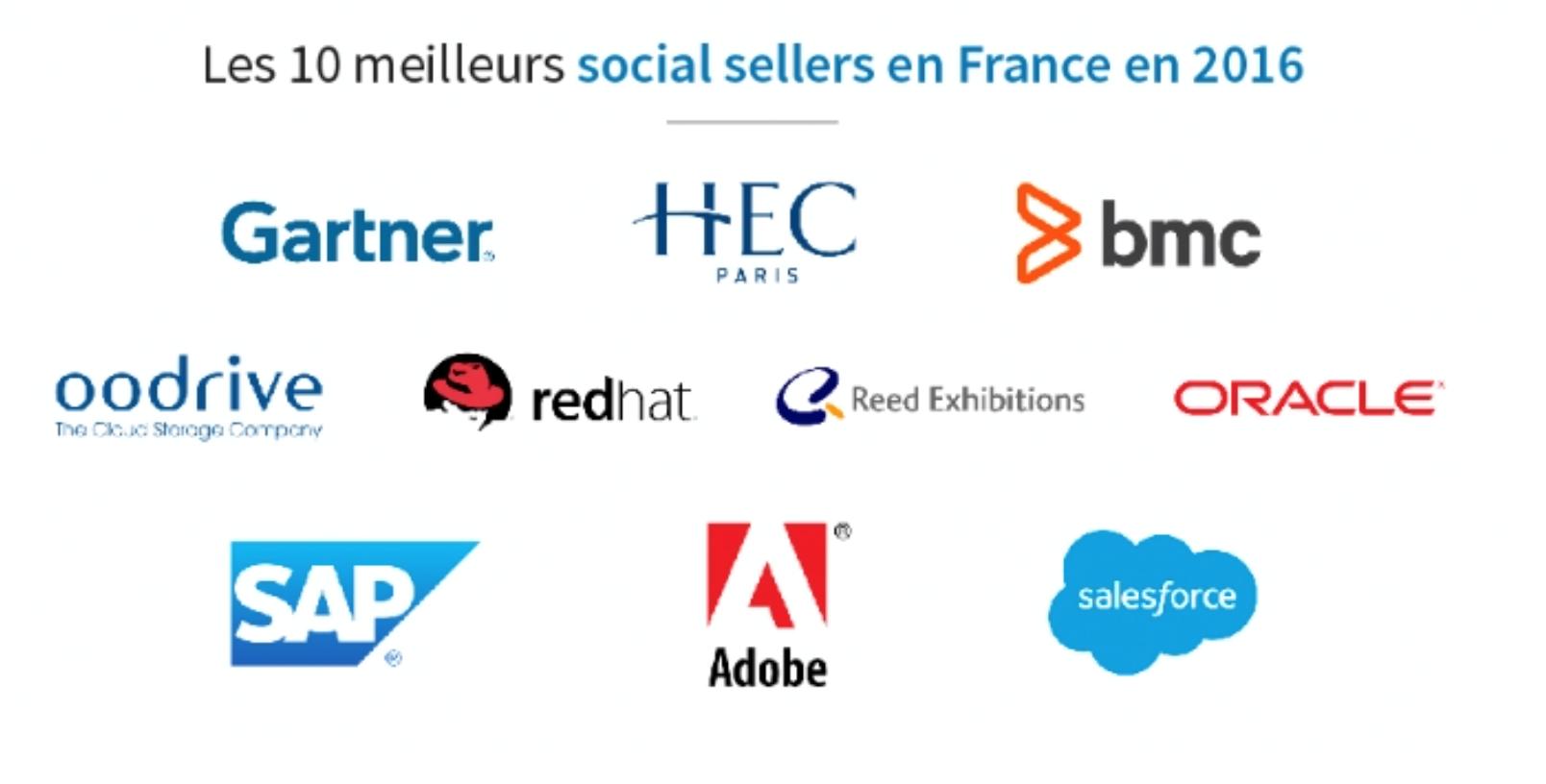 top 10 social sellers france