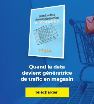 Générez du trafic en magasin <br> grâce à la data